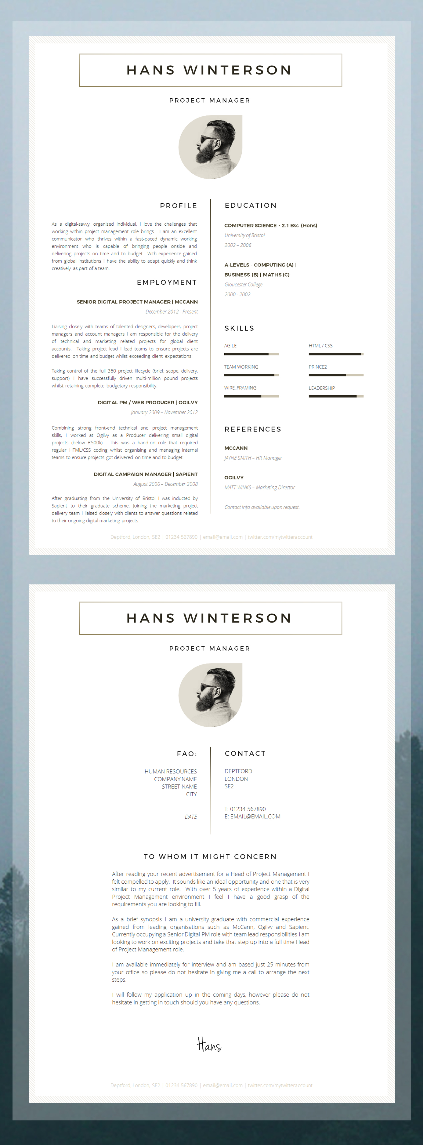 Resume Templates For 5 Years Experience