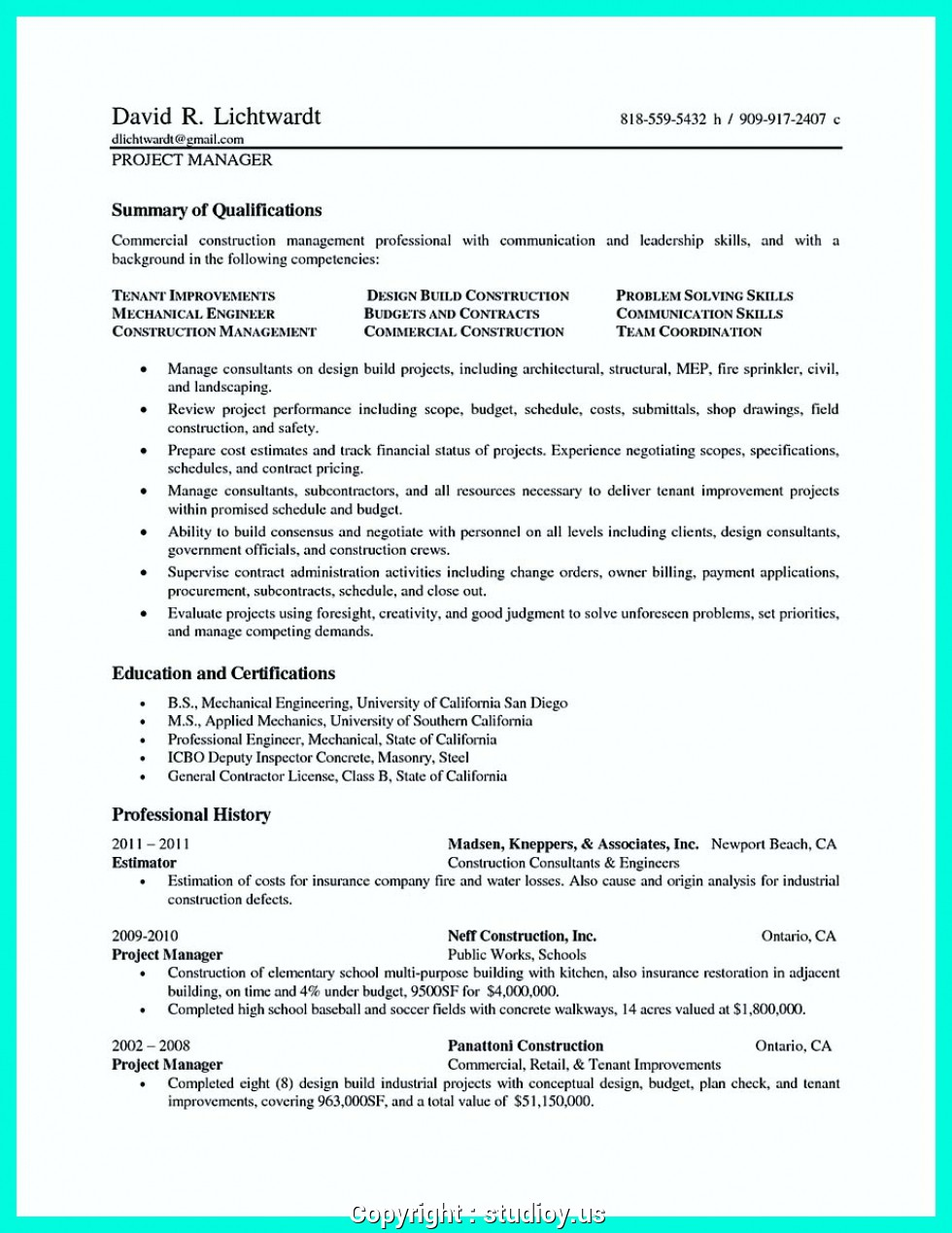 Professional resume writing services qld