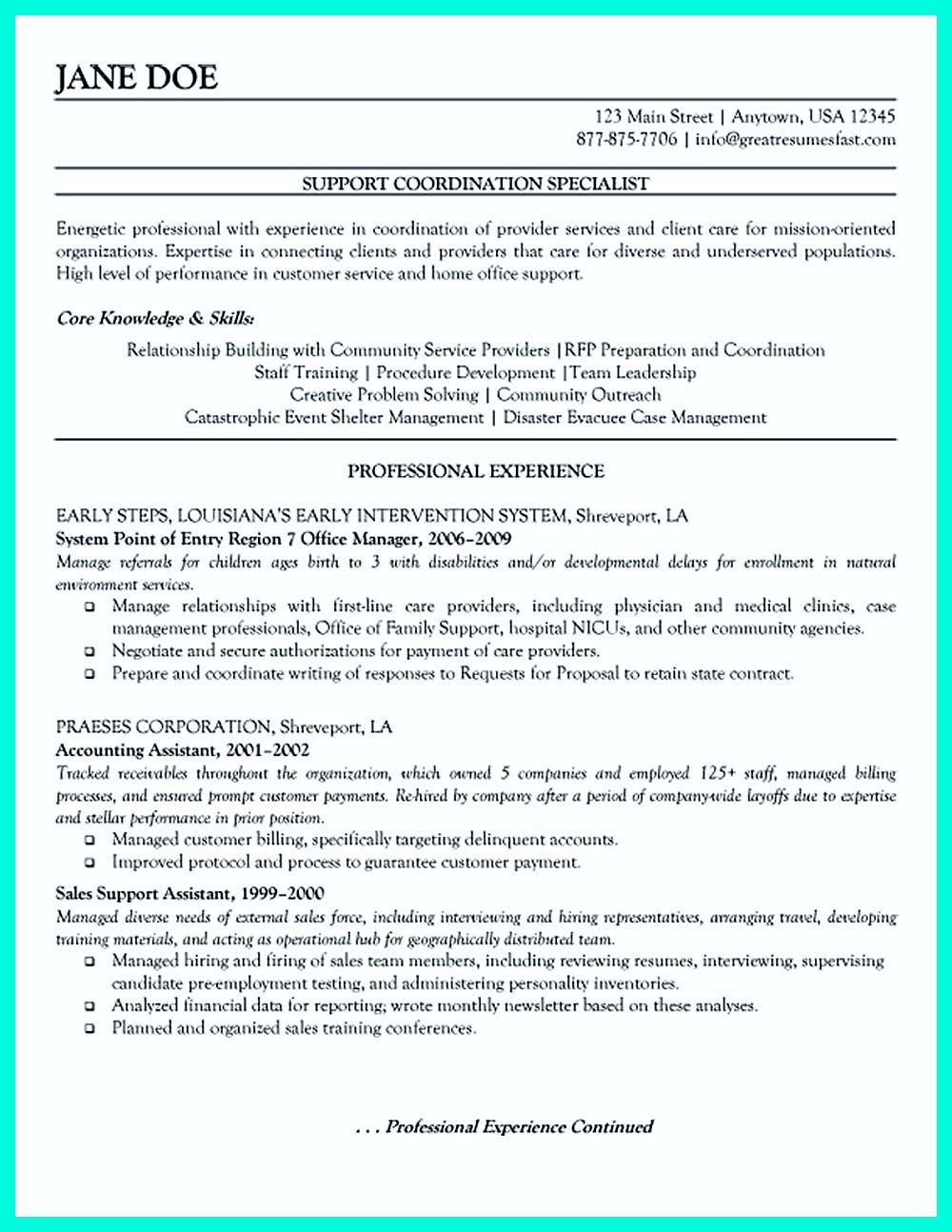 Resume Format Mistakes