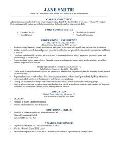 Resume Templates With Photo