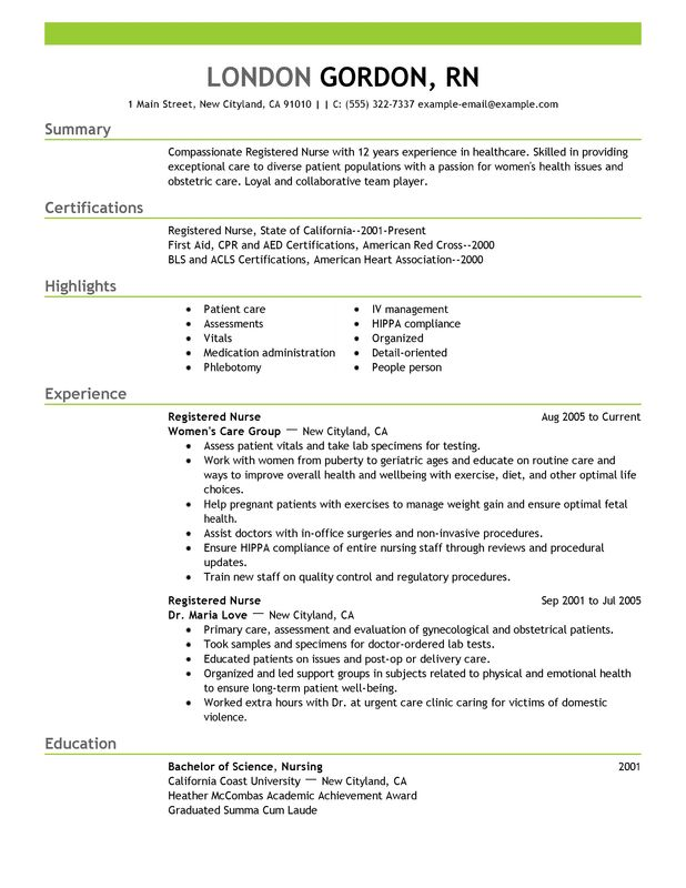 Resume Templates For 1 Year Experienced