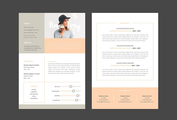 Resume Templates Keynote