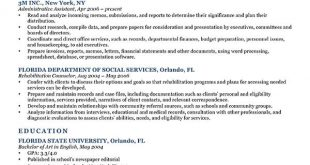 Resume Templates Objectives