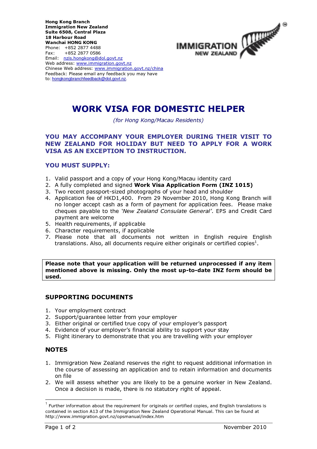 Resume Format New Zealand