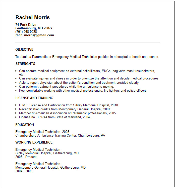 Resume Format Jedegal