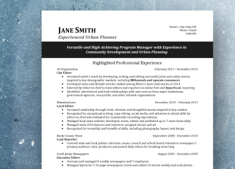 Resume Examples That Stand Out