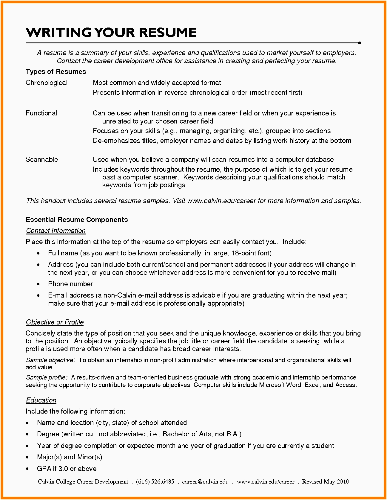 Resume Examples Career Change Resume Templates