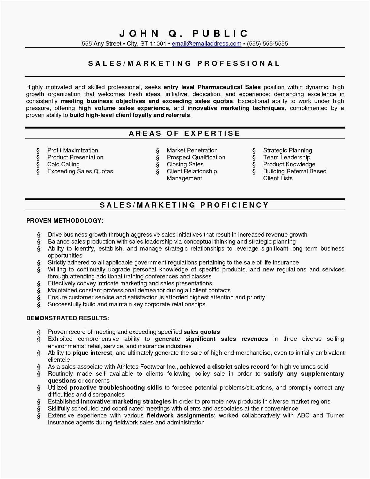 Resume Examples Career Change