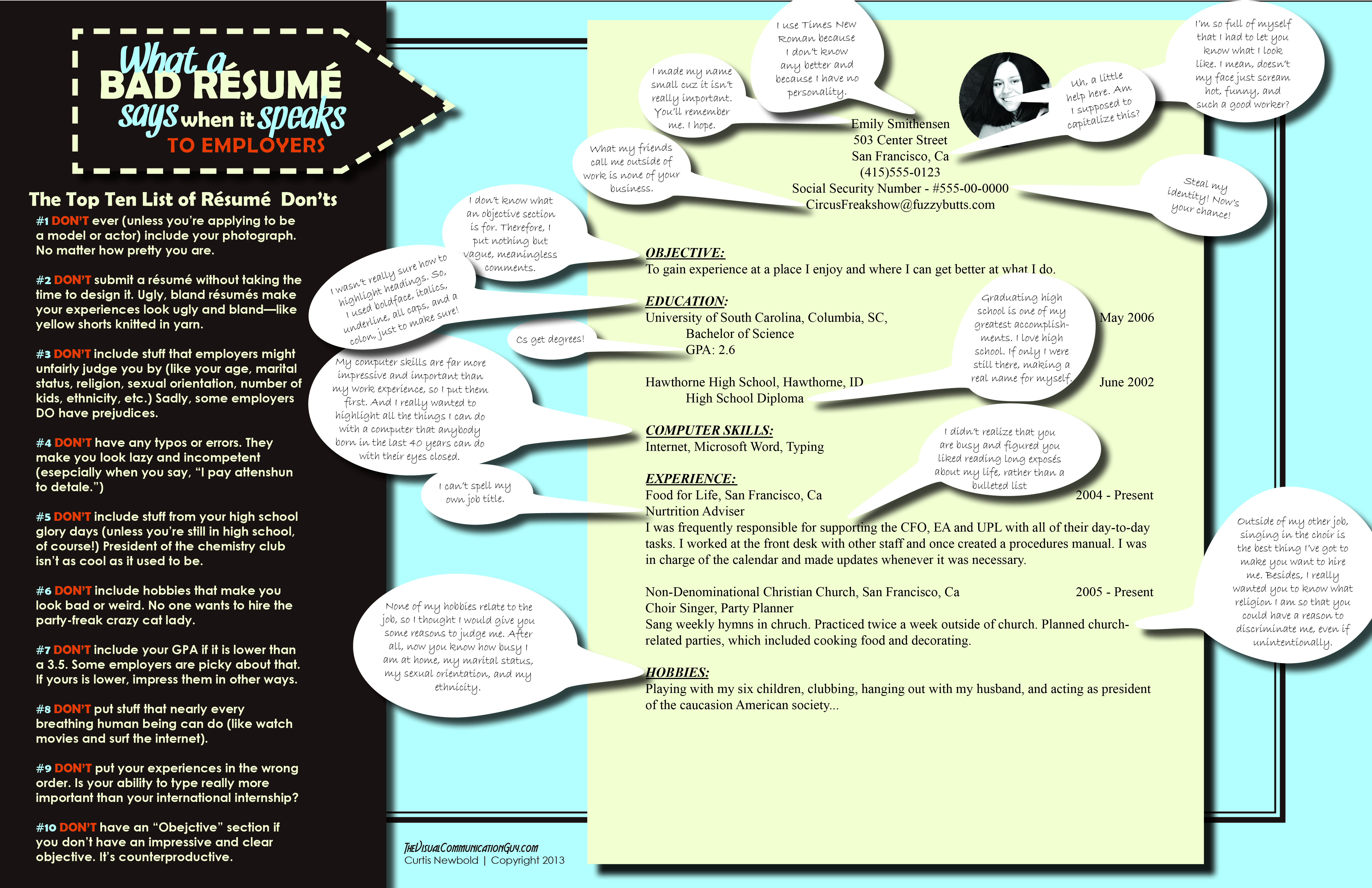 Resume Templates Good Or Bad