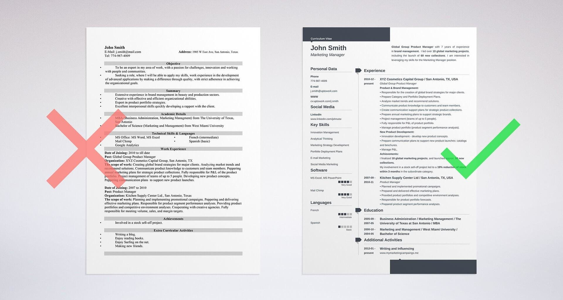 Resume Examples Objective