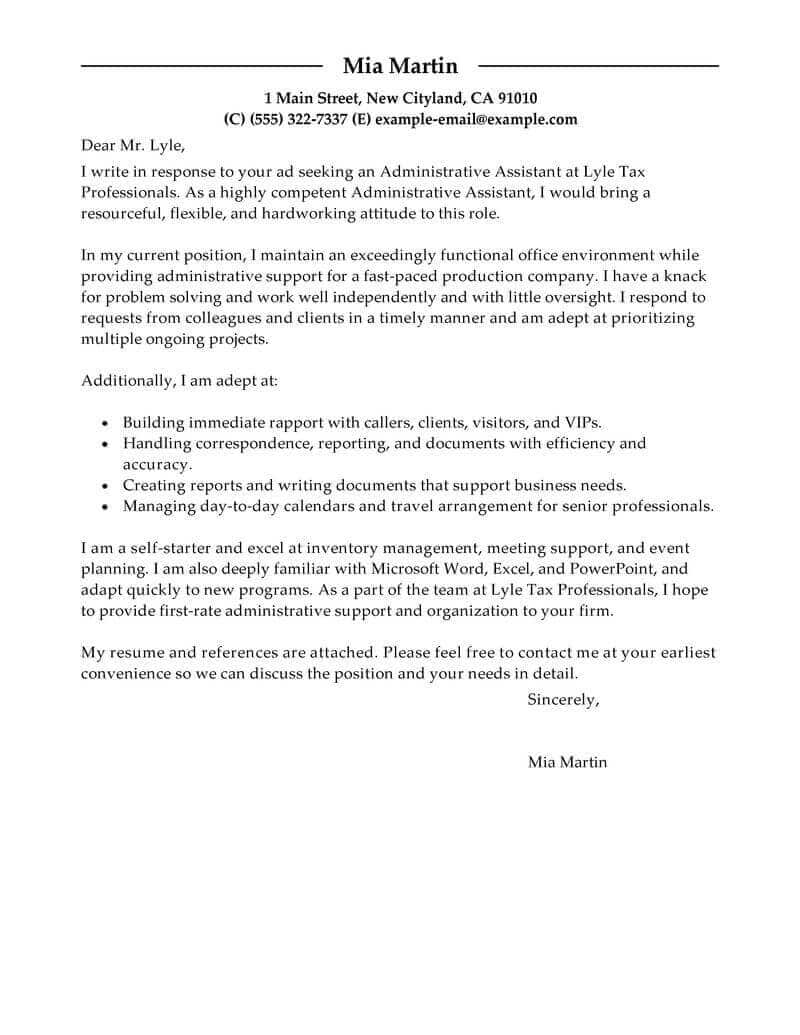 Resume Examples Cover Letter Resume Templates