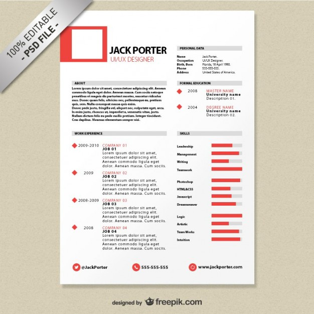 Resume Templates Unique