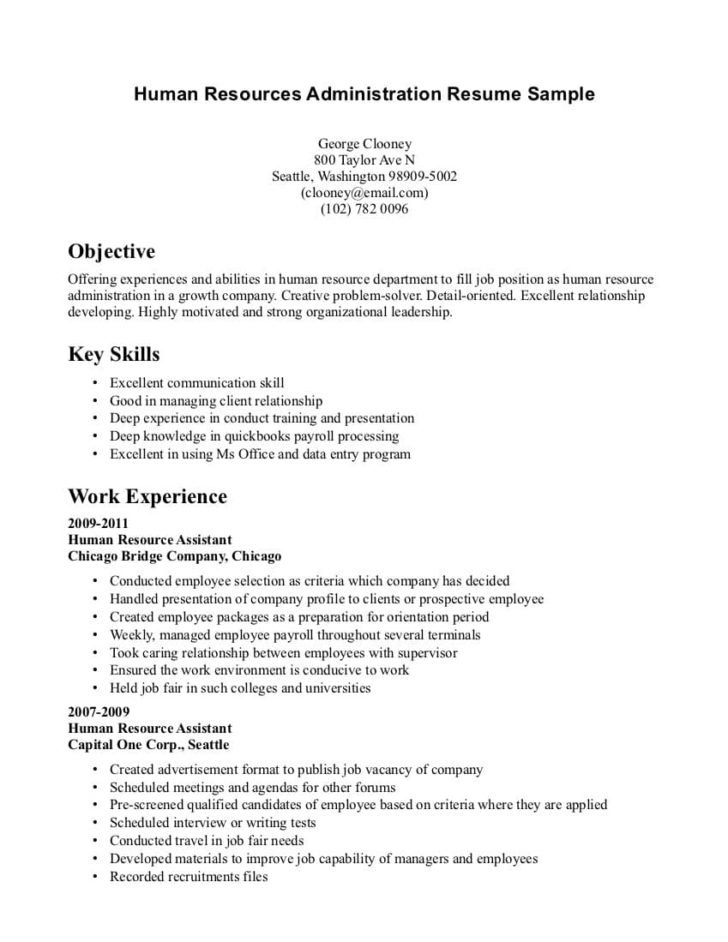 Resume Format No Experience