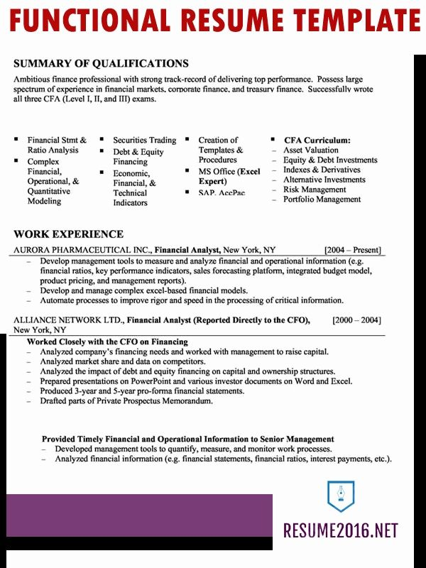 Resume Templates That Highlight Skills