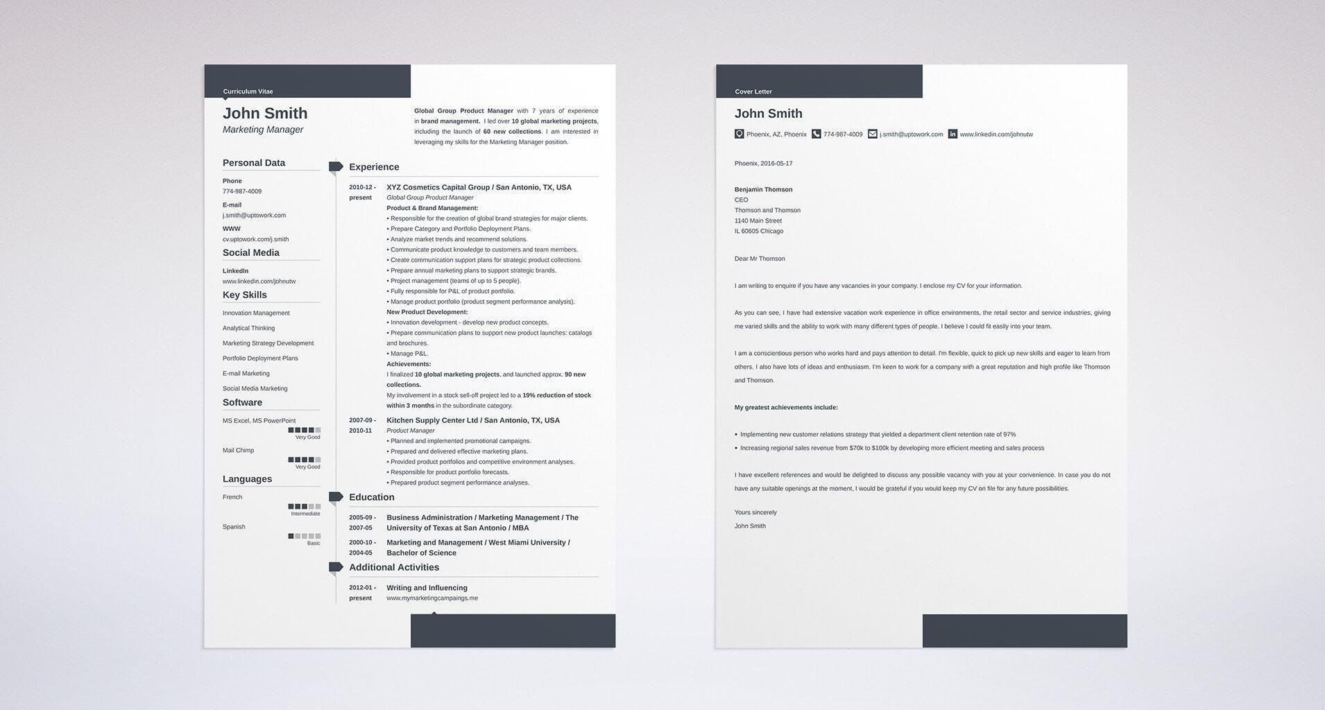 Resume Templates Just Outta High School